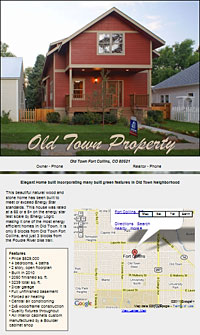 Old Town Property for Sale